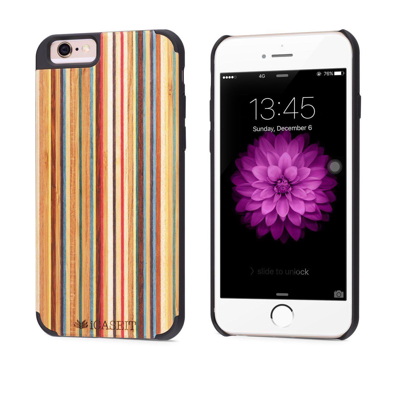 best cheap 02c40 d397e Amazon.co.uk: iPhone 6 / 6s Case | iCASEIT Handmade Premium Quality ...