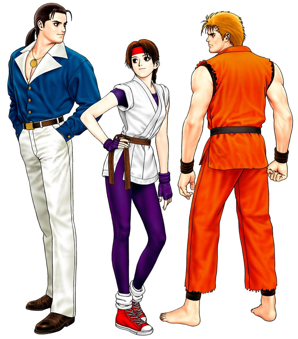 Art Of Fighting Team From The King Of Fighters 98 Ultimate Match King Of Fighters Art Of Fighting Fighter