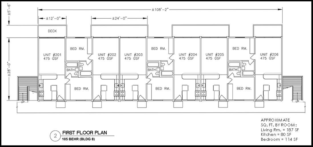 Example of Jr  1  bedroom floor plan  Building layout. Example of Jr  1  bedroom floor plan  Building layout   Aldea San