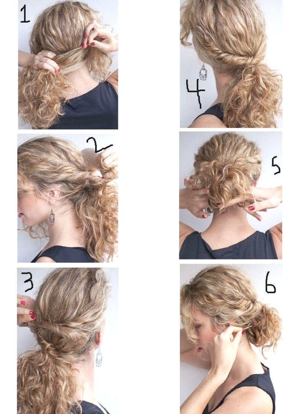 13 Peinados faciles para cabello ondulado