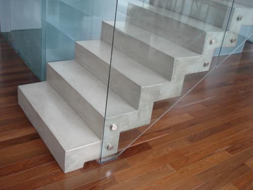 Microcemento escalera picture escala pinterest - Escaleras para perros pequenos ...