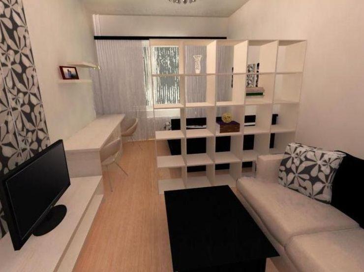 Schönes Bett Im Wohnzimmer Ideen Schlafzimmer Kombiniert