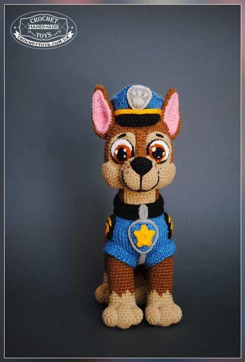 Crochet dog Chase PAW Patrol | amis amis | Pinterest | Häkeln ...