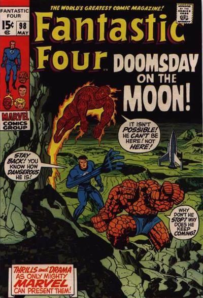 Fantastic Four # 98 by Jack Kirby & Joe Sinnott
