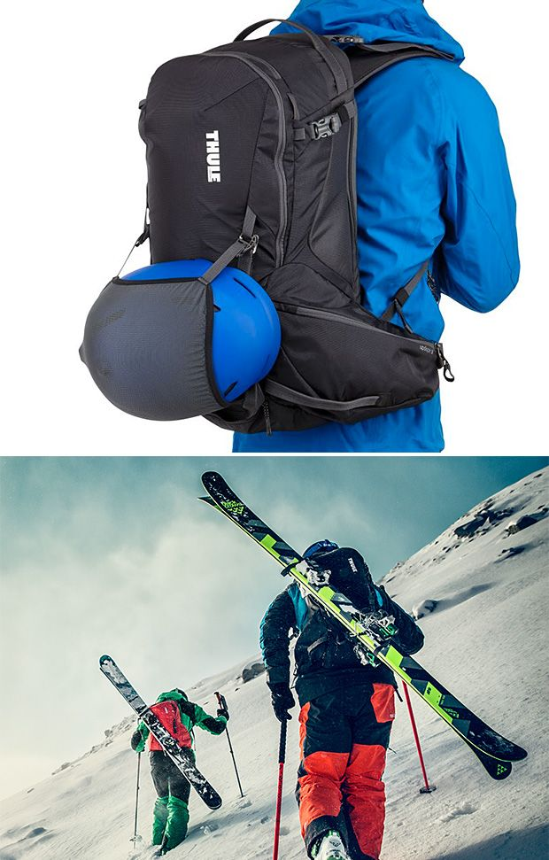 722534be0df Thule has added packs designed for skiing & snowboarding to its line of  technical backpacks. There are two: a 35-liter and a 20-liter, both  offering ...