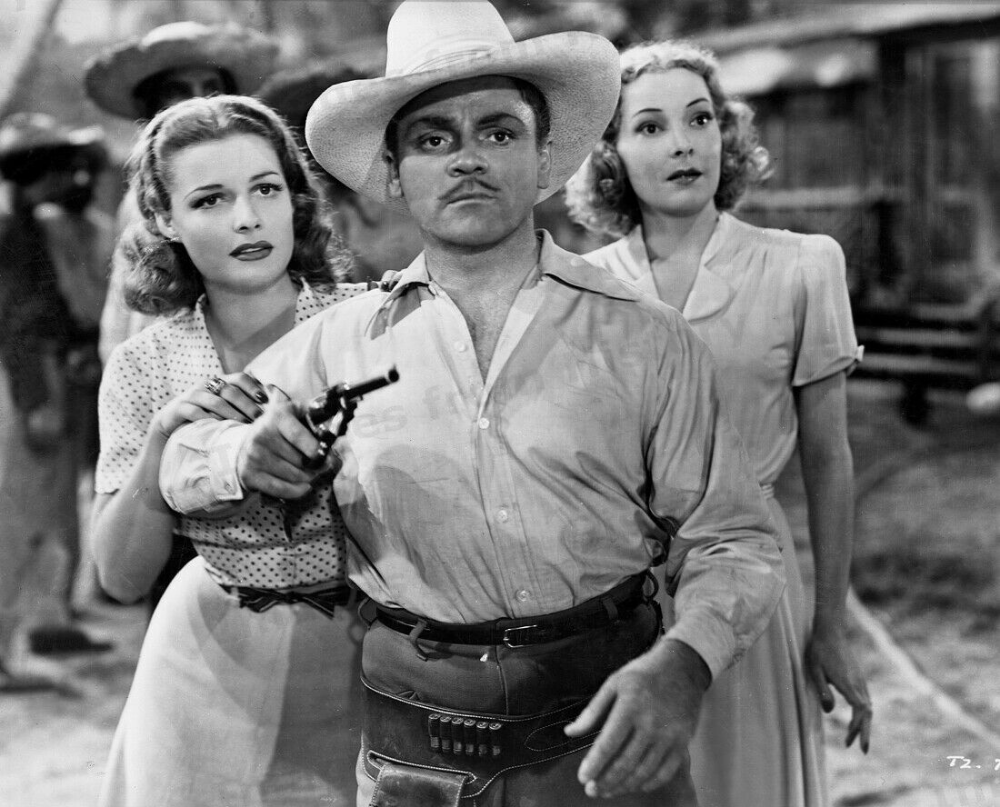 Details about 8x10 Print James Cagney Ann Sheridan Helen