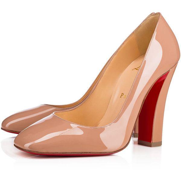eed88d0b1ec0 Viva Pump 100 Nude Patent Leather - Women Shoes - Christian Louboutin  ( 625) ❤