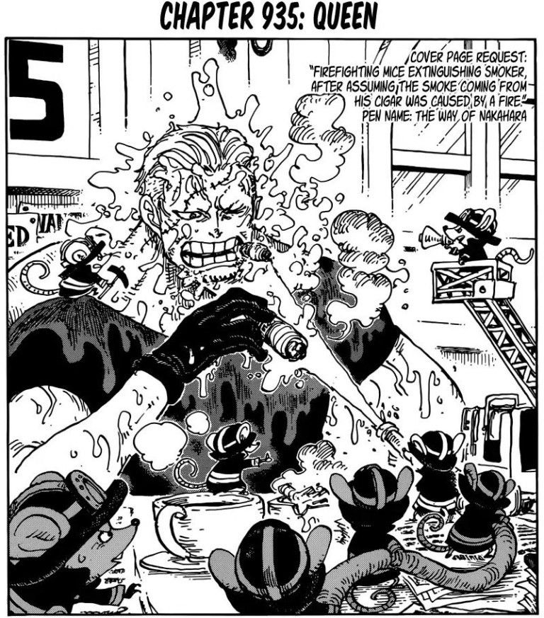 One Piece Manga Chapter 935 Review and Discussion【2020】(画像