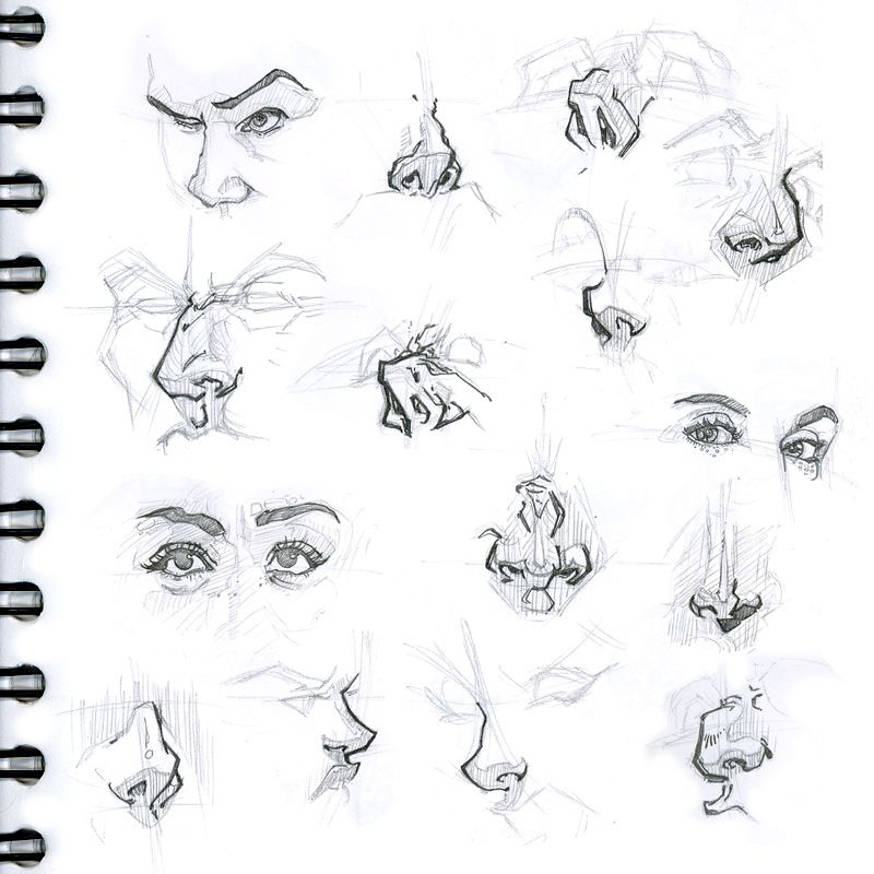 how to draw facial hair