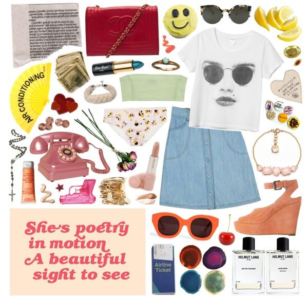 """""""I've been going down, down into the river baby"""" by claudia ❤ liked on Polyvore"""