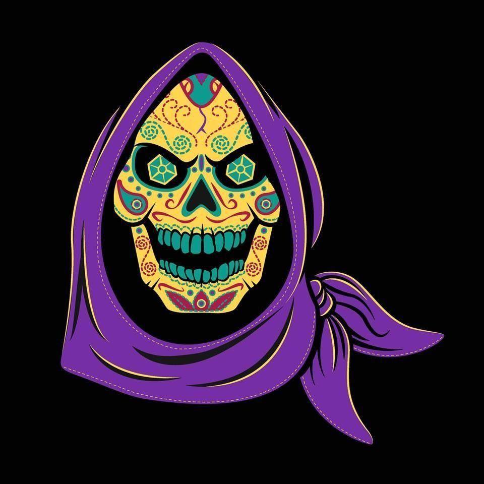 Dia de Los skeletor