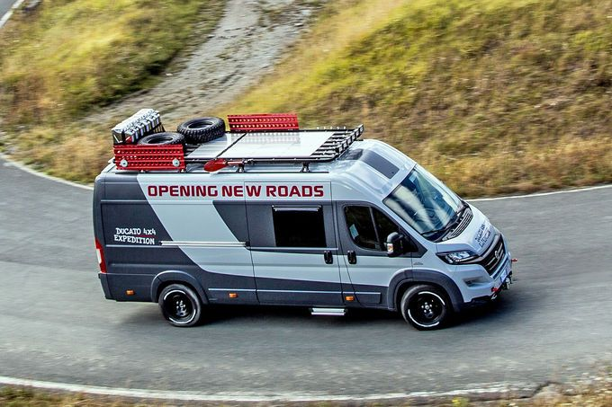 Photo of Fiat Ducato 4×4 Expedition concept: extreme motorhome