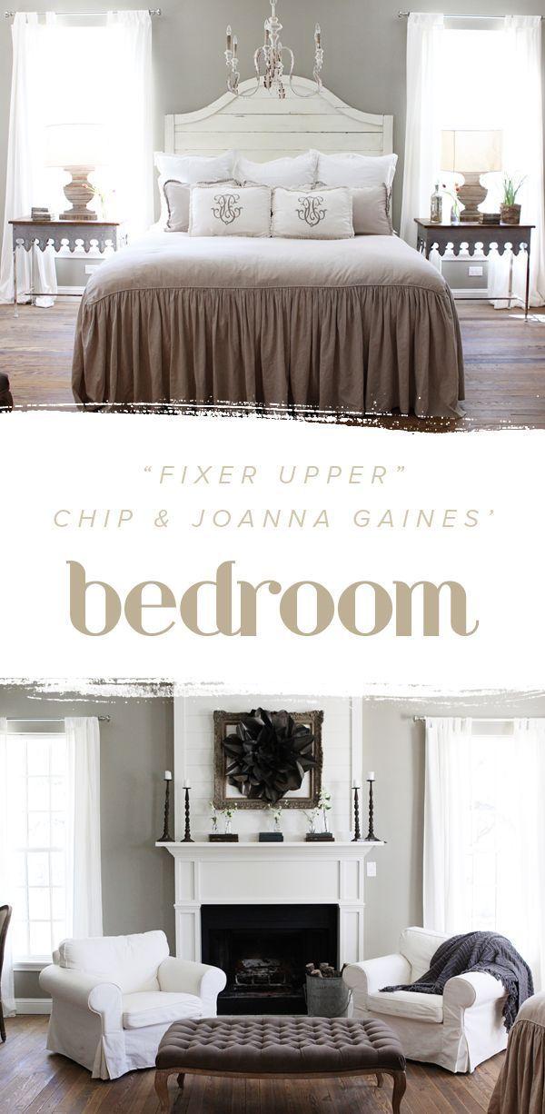 Fixer Upper Chip and Joanna Gainesu0027 bedroom