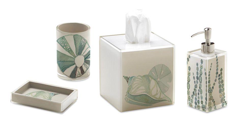 La Mer Bath Collection Designed By Shell Rummel For Bacova Bath
