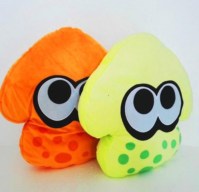 Anime Splatoon Plush Toys Splatoon Squid Soft Doll Stuffed Animal Pillow