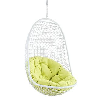 Rattan Outdoor Patio Swing Chair | Overstock.com Shopping   Great Deals On  Modway Hammocks