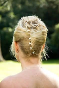 Bride Updo From The Back