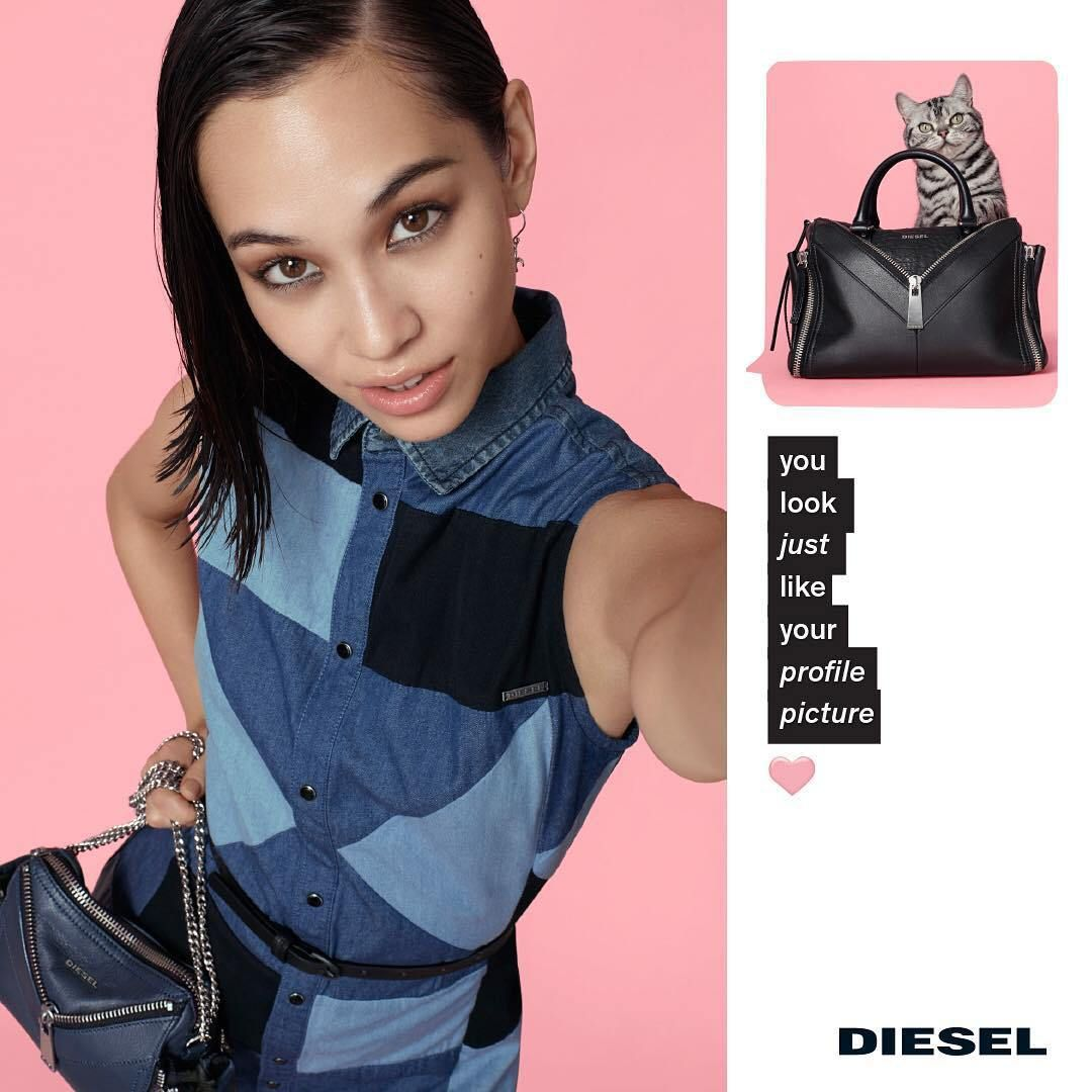 Spring diesel summer ad campaign catalog photo