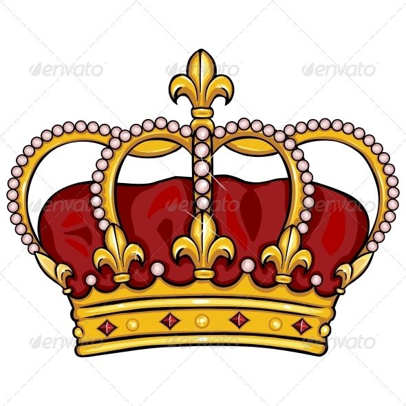 Cartoon Royal Crown Cartoon Clip Art Crown Tattoo Design Crown Clip Art Cartoon graphics of a crown decorated with pearls and a cross on top. cartoon royal crown cartoon clip art