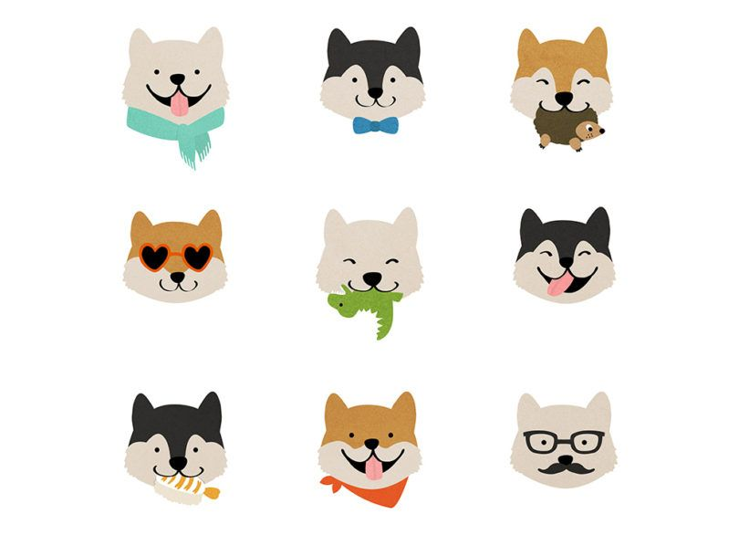 jen_ha_illustration_shiba_inu_hello_hoku-810x586.jpg (810×586)
