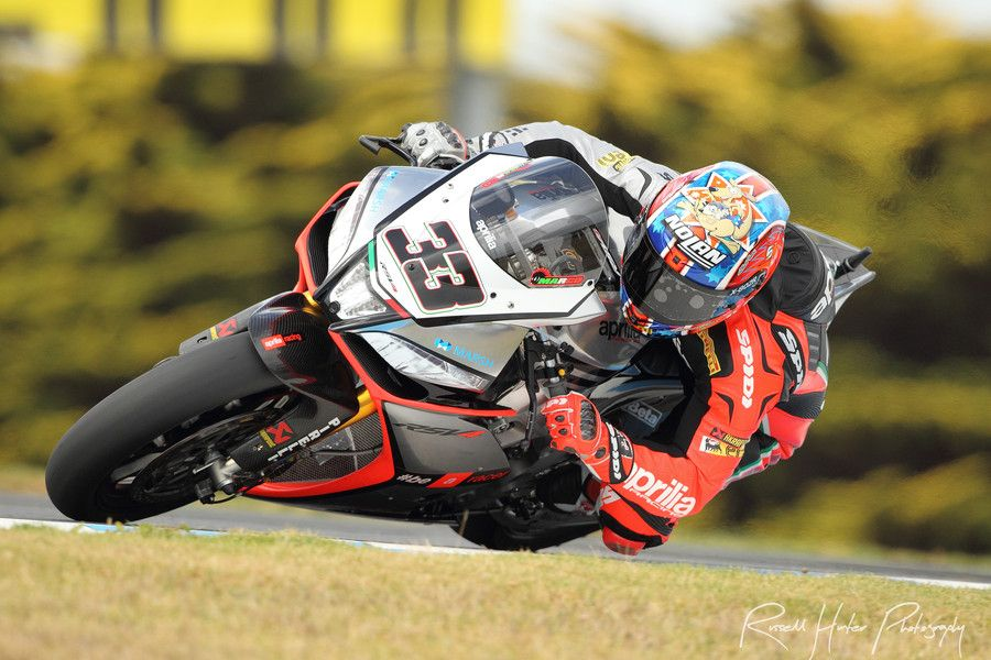 Marco Melandri - Aprilia Racing Team by Russell Hunter on 500px