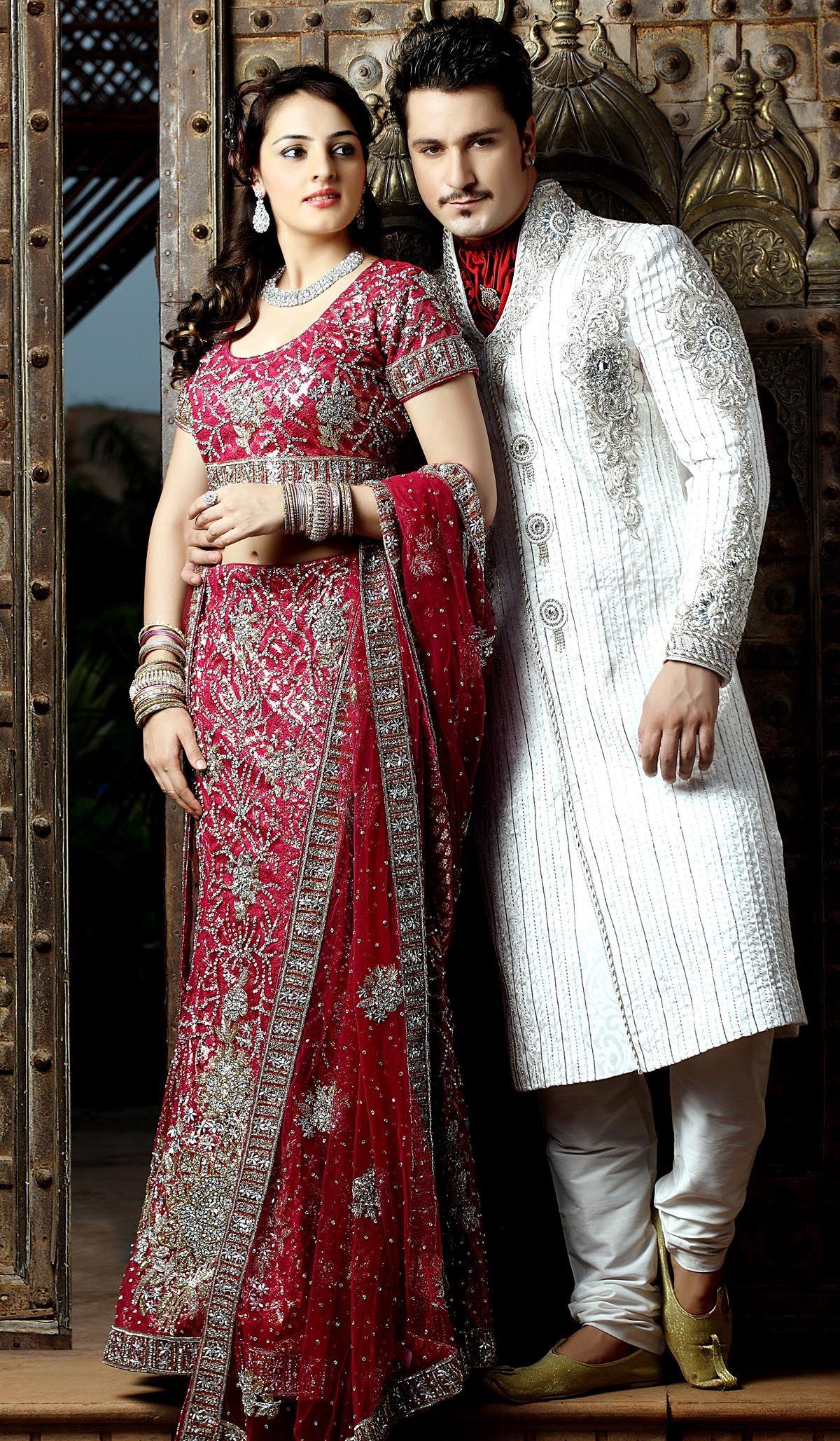 Dress Up Wedding S His Kurta And Her Lehenga Are So Pretty