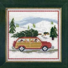 Family Tree Cross Stitch Kit Mill Hill 2013 Buttons /& Beads Winter