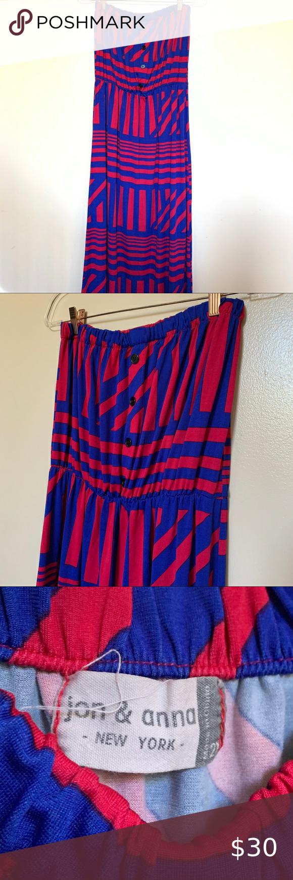 Jon Anna No Sleeve Maxi Dress Sz 2x Maxi Dress With Sleeves Maxi Dress Blue Maxi [ 1740 x 580 Pixel ]