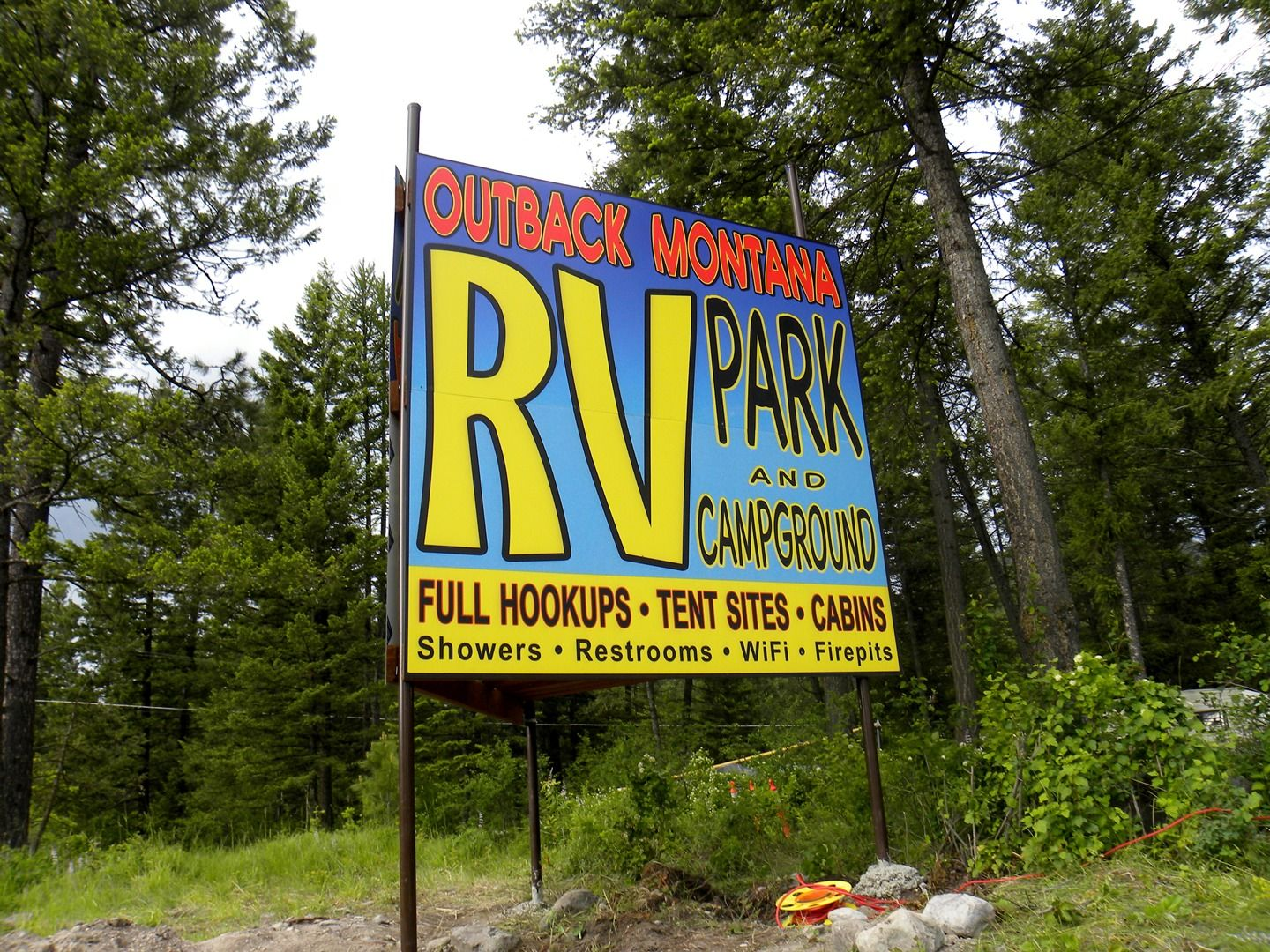 Montana campgrounds with hookups