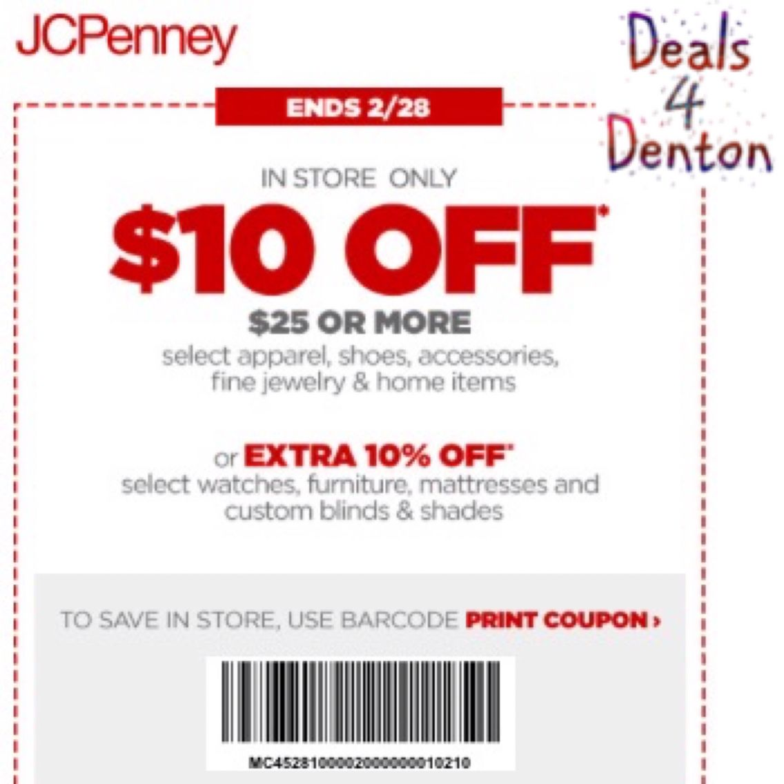Couponcommunity Denton Shopping Jcpenney Target Coupons Free Printable Coupons Printable Coupons