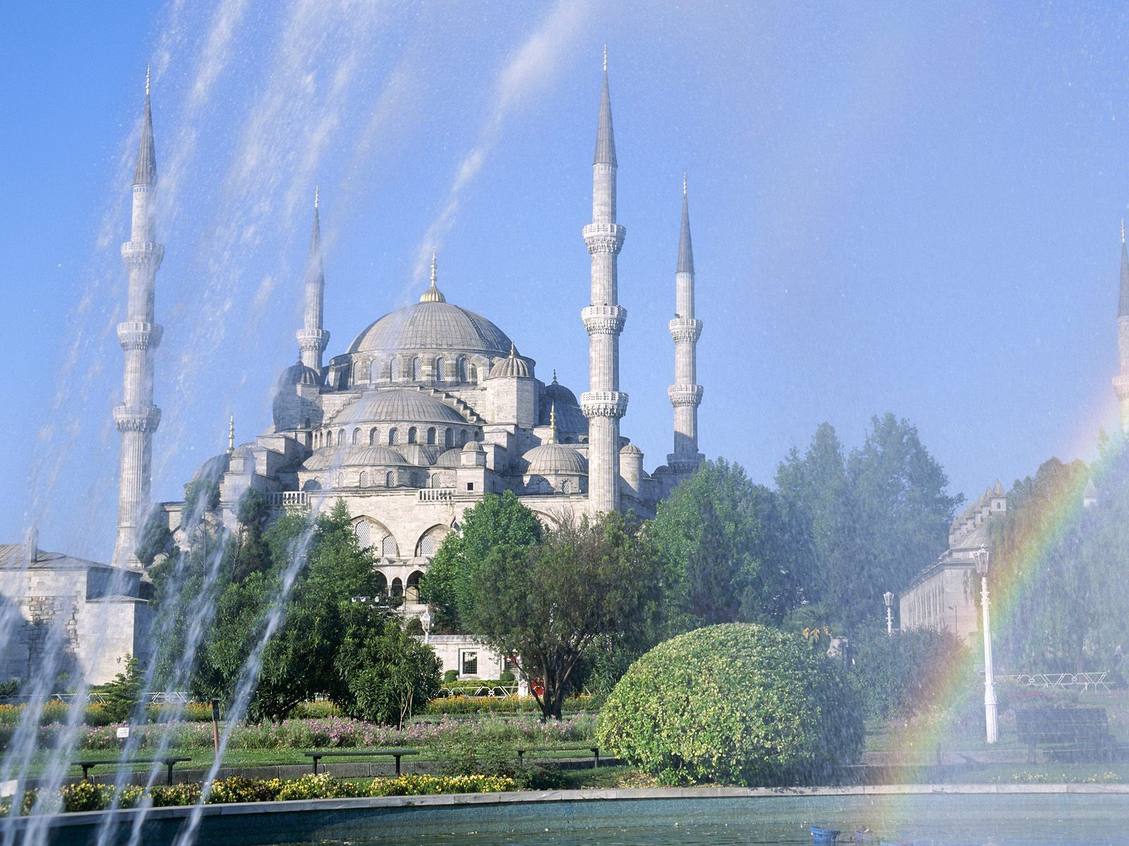 Blue Mosque Istanbul Turkey Istanbul Blue Mosque Famous Landmarks
