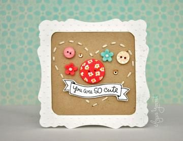 You are SO cute Card by agusyornet at @Studio_Calico
