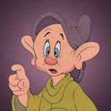 *DOPEY ~ Although Dopey may annoy Doc & Grumpy, his intentions are silly and he is often the core of the dwarfs jokes.