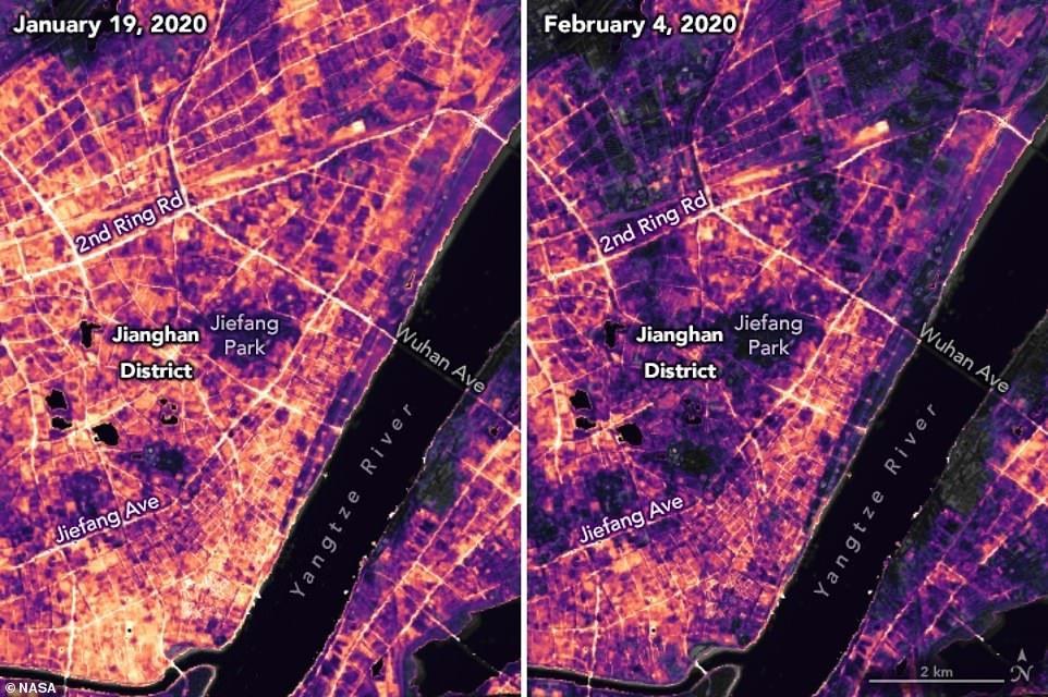 صور جديدة لـ ناسا تكشف انتشار الظلام وانخفاض التلوث فى
