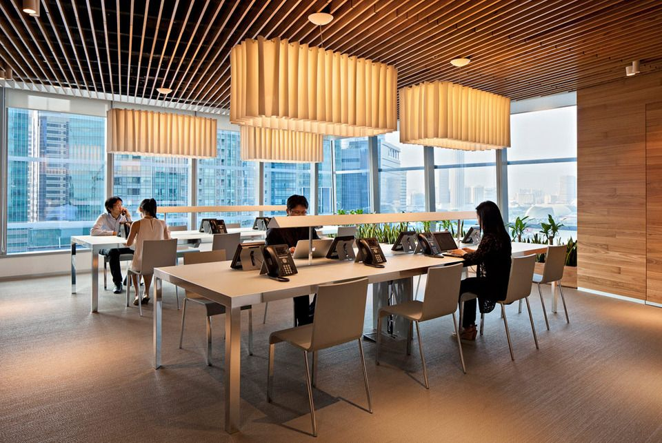 American express winner 2011 bloomberg asia pacific property award best singapore workplace · corporate interiorsoffice