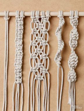 13 Fabulous Macrame Projects for the Beginner