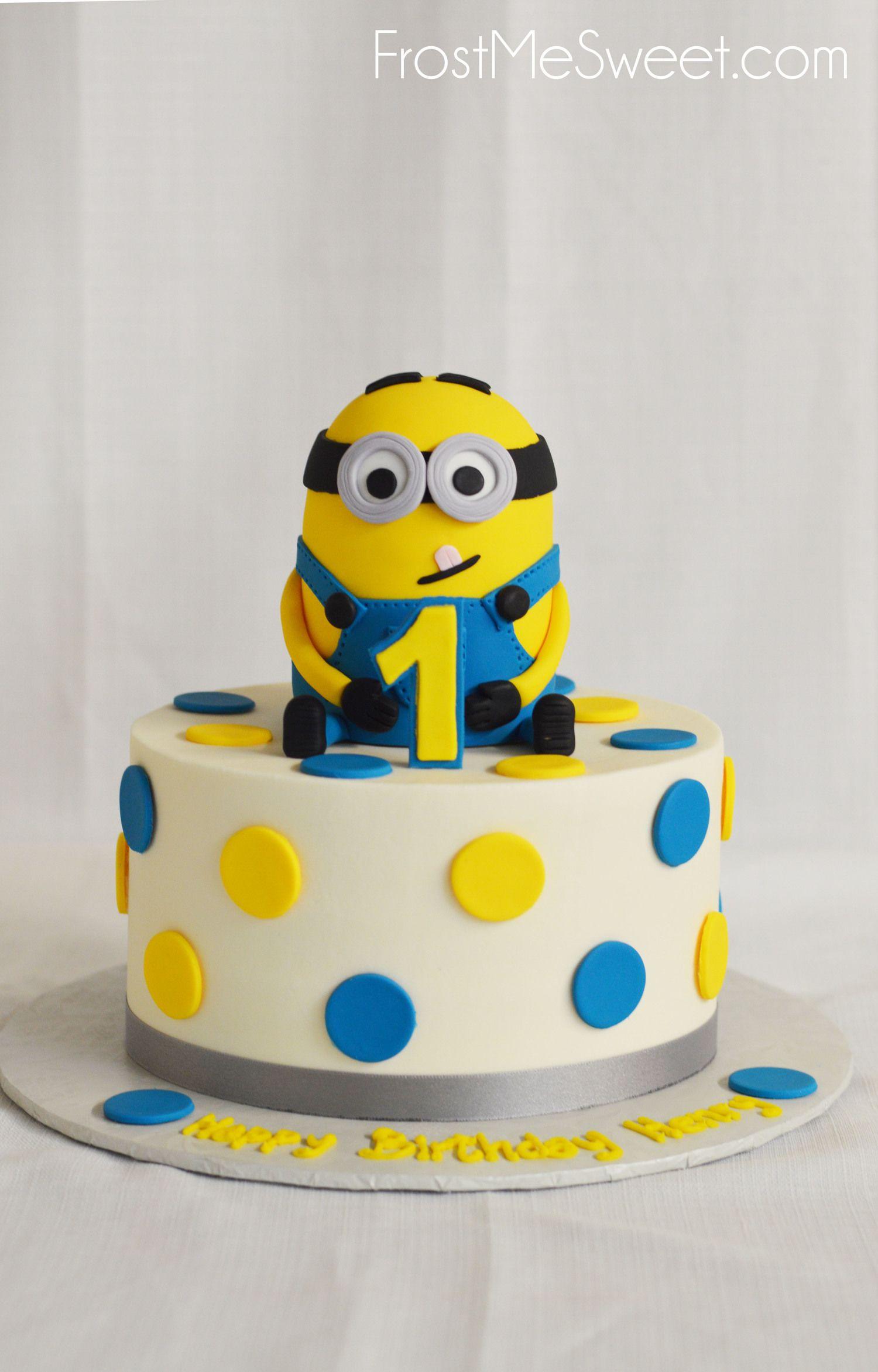 Minion Cake Minion Birthday Cake Birthday Cake Singapore First