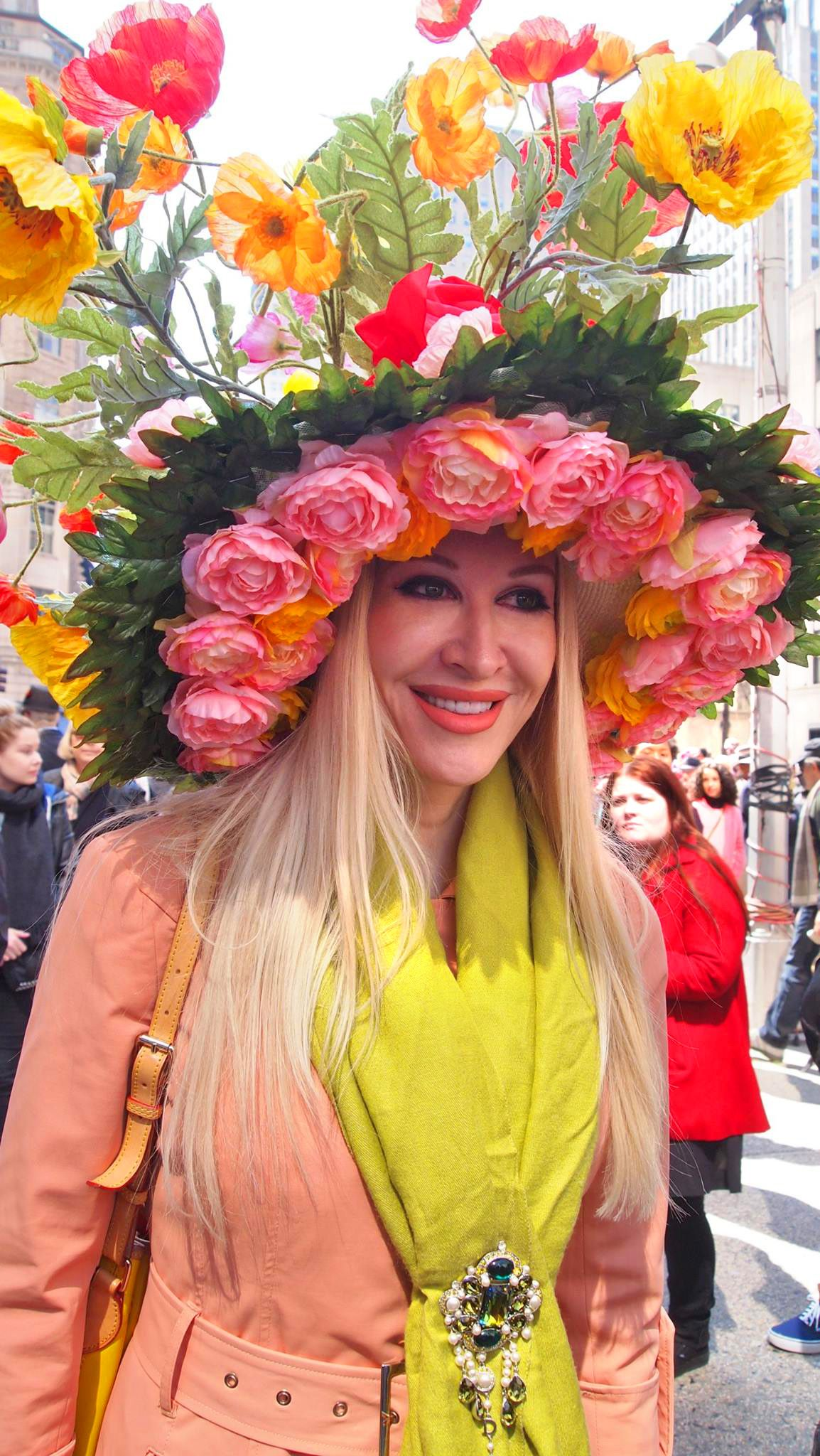 10dab95c931 At the New York City Easter Parade   easterparade   easterbonnet   hat    LifeIsCake