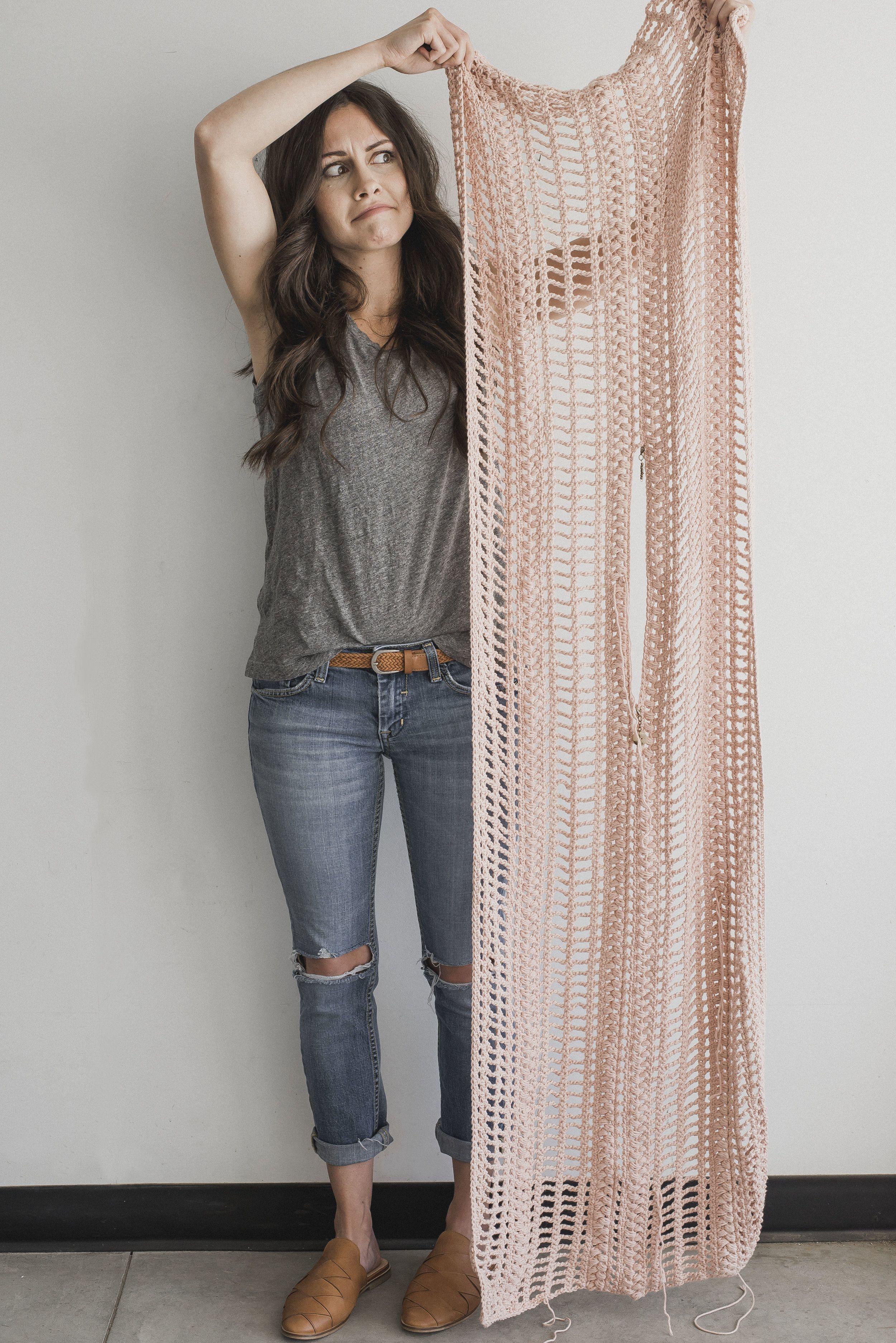 Free Crochet Pattern for the Easy, Breezy Swim Cover