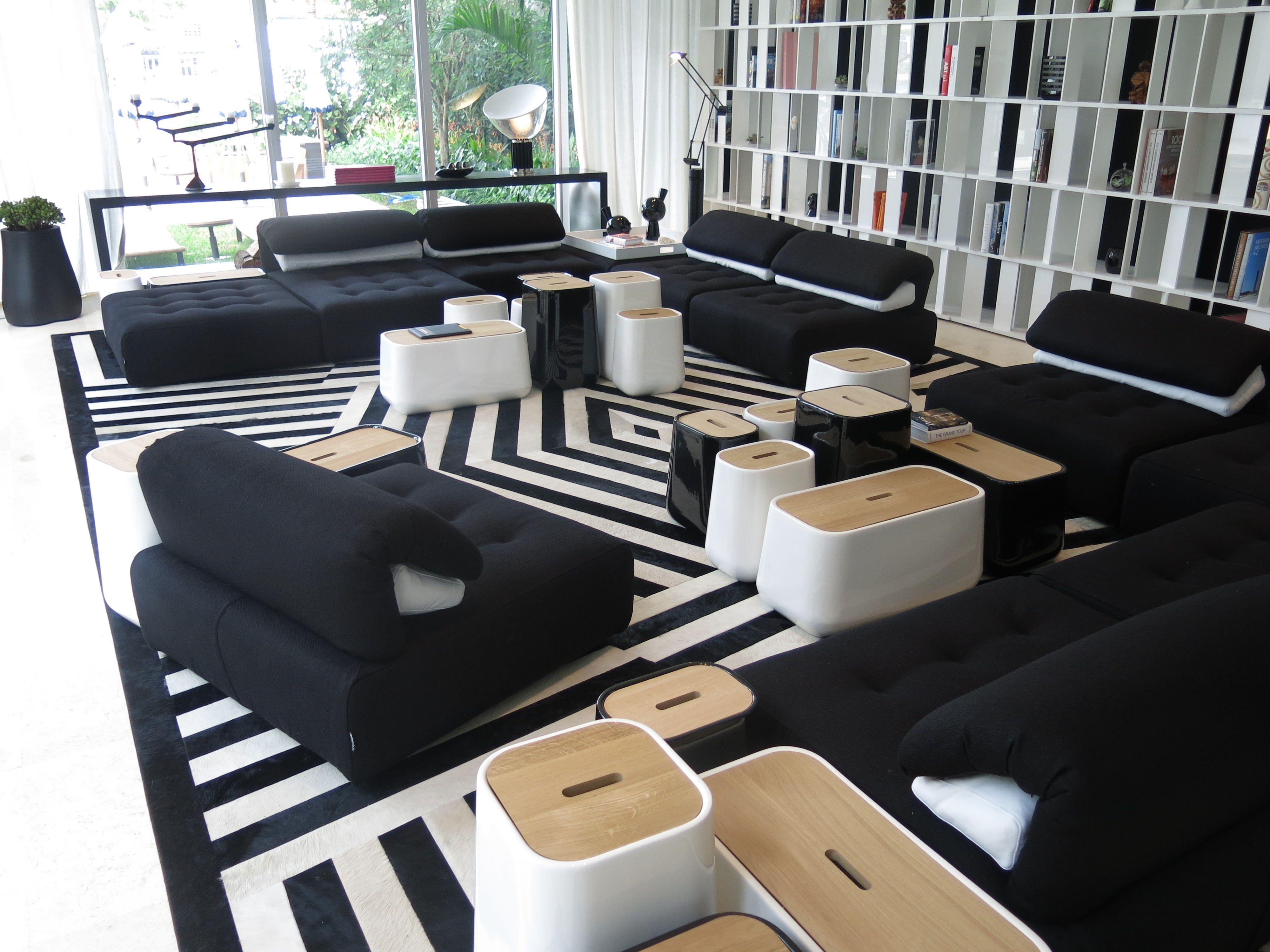 roche bobois floor cushion seating. Roche Bobois | Elle Decor Modern House 2013 Art Basel In New York, USA · Floor CushionsElle Cushion Seating