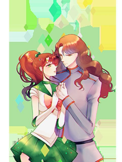 Sailor Jupiter And Nephrite Nephrite Sailor Moon |...