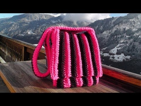 Bag Crochet Pattern Schachenmayr Bravo Big Youtube Häkelvideos