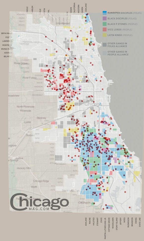 Chicago Gang Territory Vs 2011 Chicago Homicides Chicago Gangs Gang Chicago