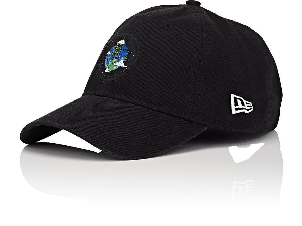 e1595d876f5 HAAS BROTHERS X NEW ERA EARTH-MOTIF COTTON BASEBALL CAP.   haasbrothersxnewera