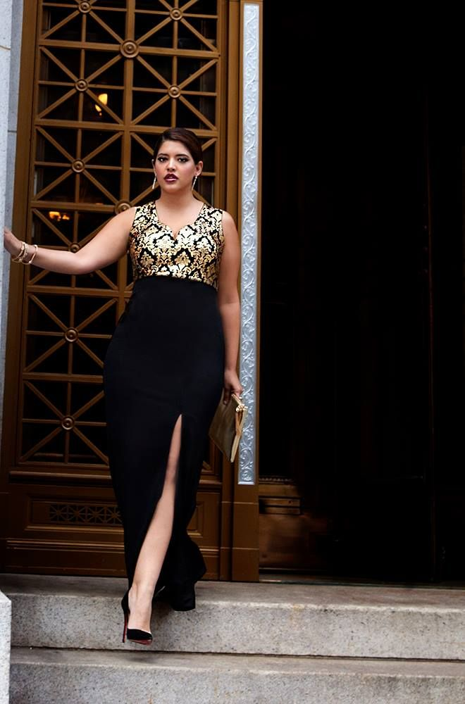 Gala gown #plus #size #curvy #fashion #2015