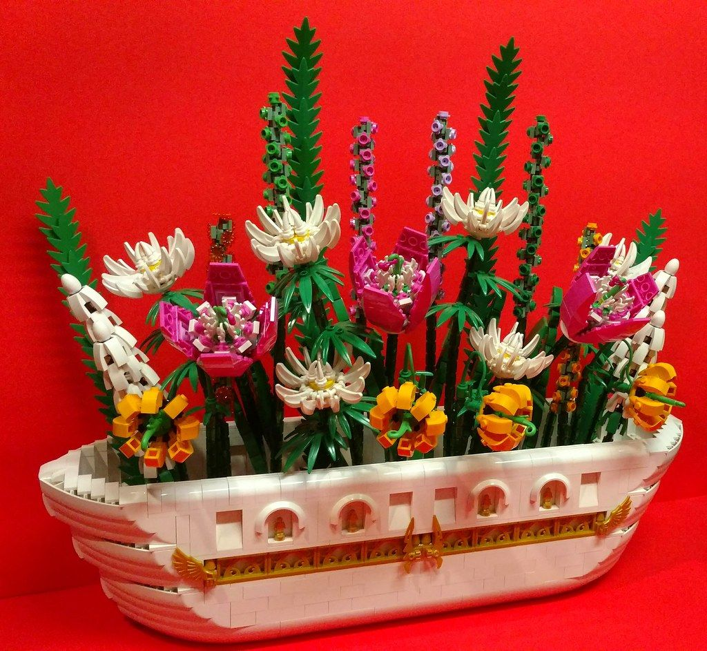 flower bouquet lego nz