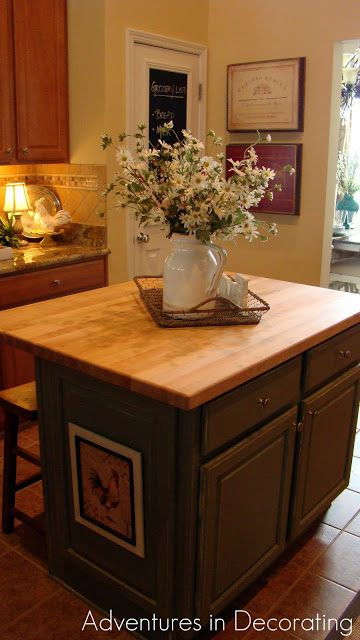 Adventures In Decorating Kitchen Island Home Decor Pinterest - How to decorate a kitchen island