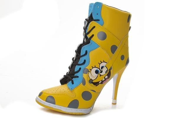 I found  Spongebob Jordan Heels.  on Wish d6e90c2680