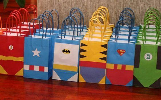 Super Easy Superhero Birthday Party Ideas