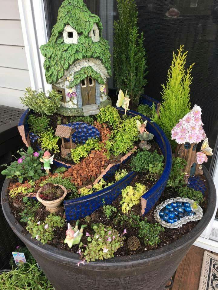 Pin by Ann King on Fairy Garden Ideas | Pinterest | Gardens, Fairy ...
